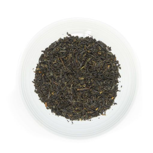 Japanese black tea leaves, from Chiran, Japan